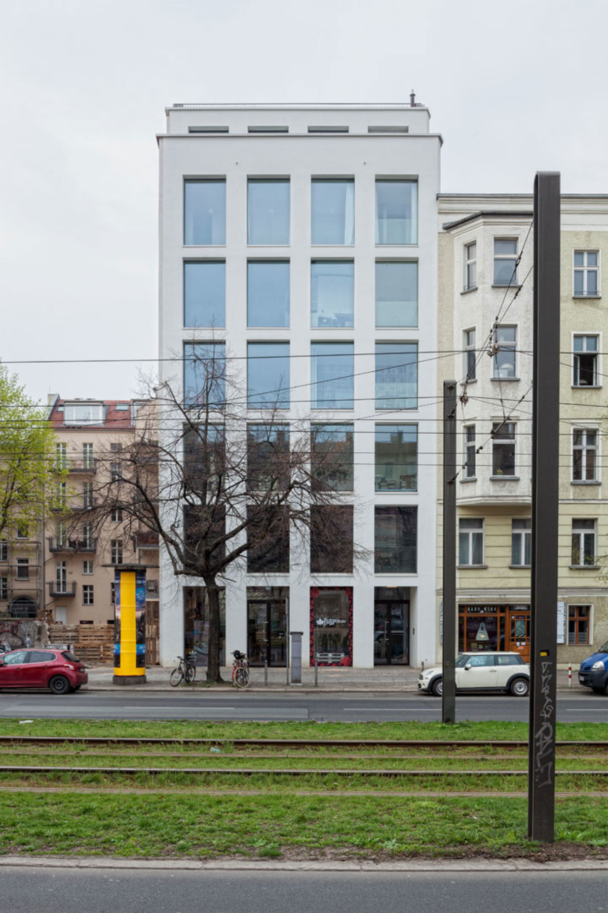 Ulrich schwarz · ìapartment house in berlin mitte · divisare