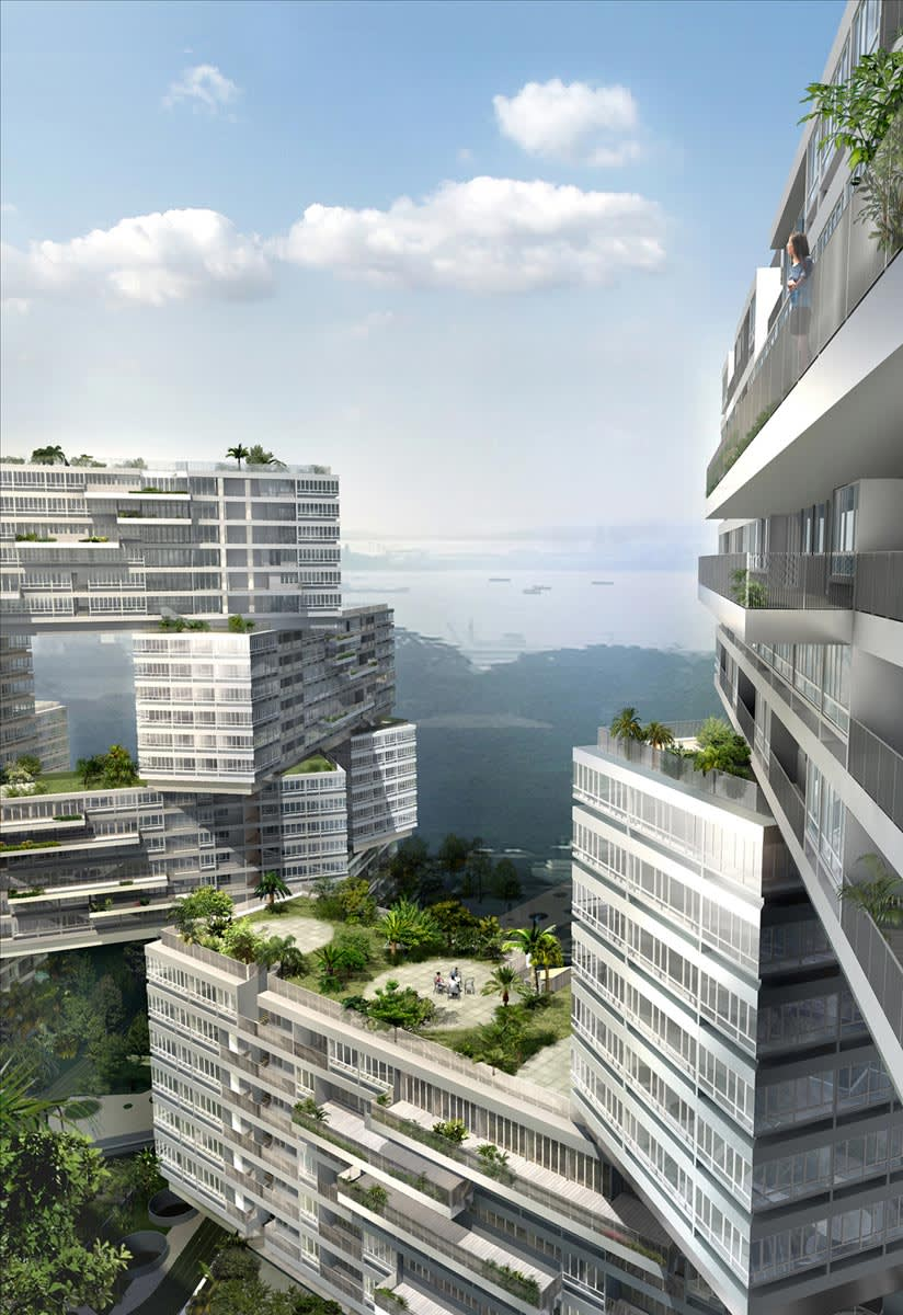 Oma office of metropolitan architecture the interlace - Office for metropolitan architecture oma ...