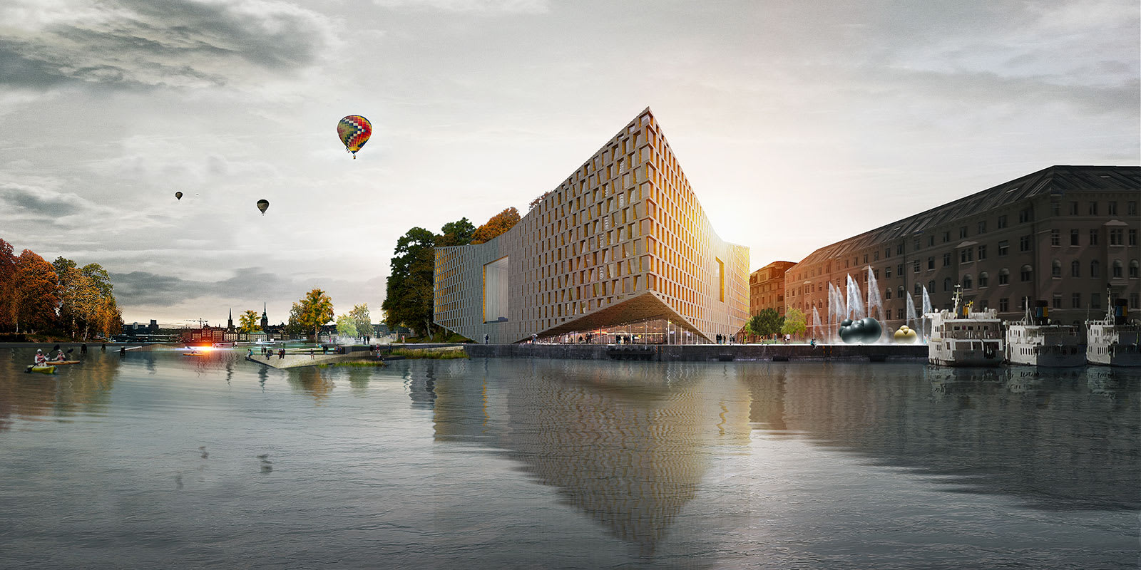 Big bjarke ingels group prism divisare for Big bjarke ingels group