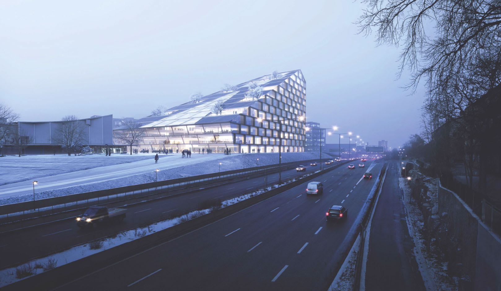 Big bjarke ingels group solkilen divisare for Big bjarke ingels group